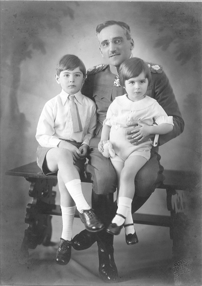HM King Alexander and the children of HRH Prince Paul, HRH Prince Alexander and HRH Prince Nikola