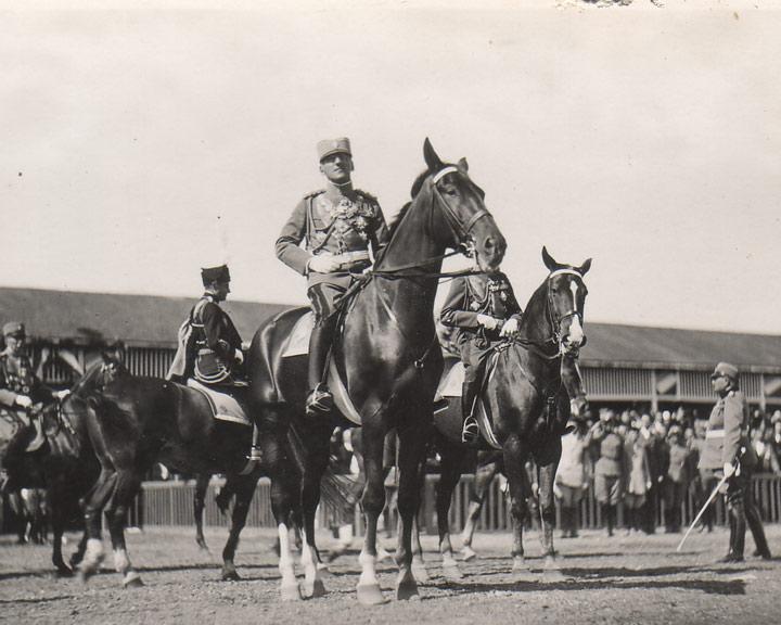 HM King Alexander I in Banjica