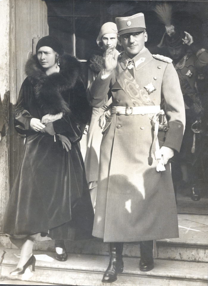 TM King Alexander I and Queen Maria