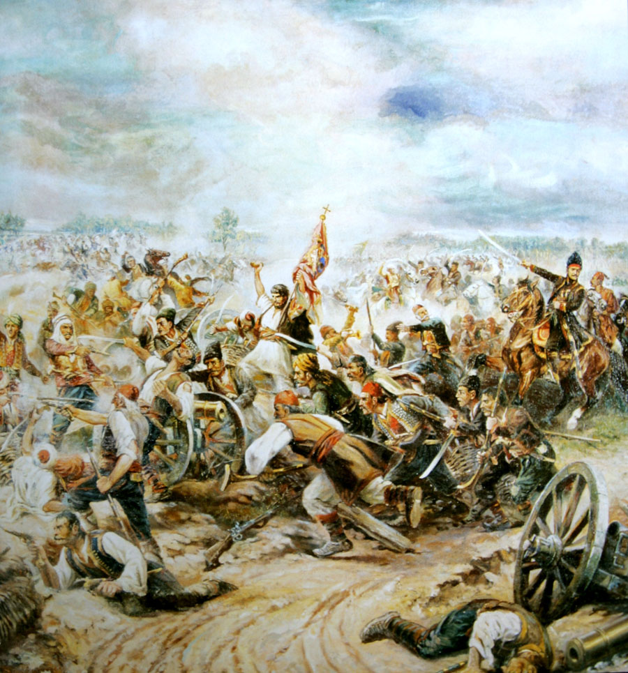 """""""Бој на Мишару"""", Први српски устанак, 1806."""