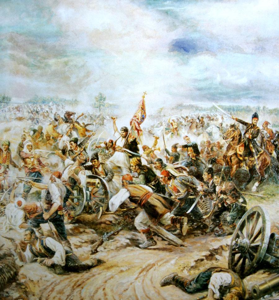 """Battle of Misar"", First Serbian uprising, 1806."