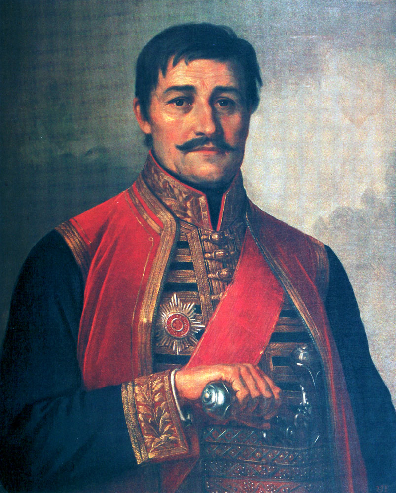 Supreme Leader Karadjordje, oil on canvas