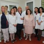 Њ.К.В. Принцеза Катарина са лекарима и медицинским сестрама ГАК Народни фронт у Београду