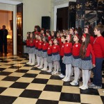 "Performance by the children's choir ""Magic"""