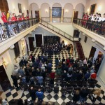 """Performance by the Northwood Preparatory School Choir from the UK, the members of the CAS """"Gradimir"""" and the children's choir """"Magic"""""""