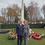 HRH Crown Prince Alexander and HE Julia Patricia Finney, Australian ambassador to Serbia