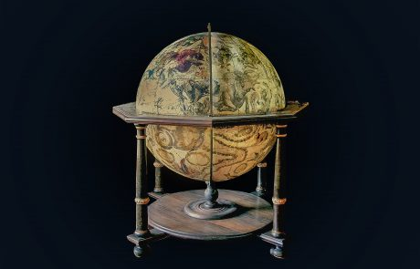 Globe of Constellations, by the Italian cartographer Vincenzo Coronelli