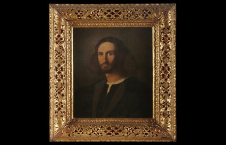 Portrait of Young Man in black (Self portrait?), Jacopo Palma Il Vecchio, c.1512
