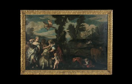 The Rape of Europe, Carletto Caliari, c.1590