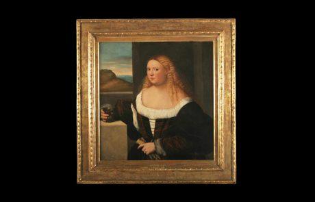 Portret plemkinje, Bernadino Ličinio, 16. vek