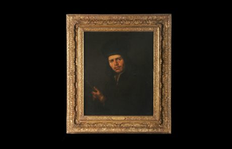 Portrait of a Young Man with Flute, Anon. (Dutch School, Carel Fabritius?), mid.17ct