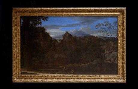 Three Monks – Solitude,Nicolas Poussin, 1648-1650