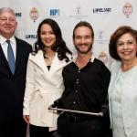 Crown Prince Alexander and Crown Princess Katherine with Mr Nik Vujicic
