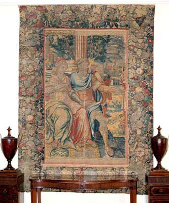Flemish Tapestry of the White Palace Dining Room