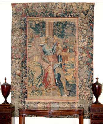 Flamanska tapiserija trpezarije Belog dvora