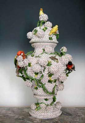 """Thousand Flowers"""" vase, the White Palace"""