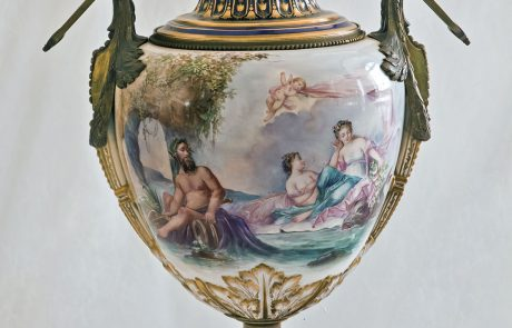 "Vase ""Galatea's Triumph"", Blue Salon of the Royal Palace of Serbia"