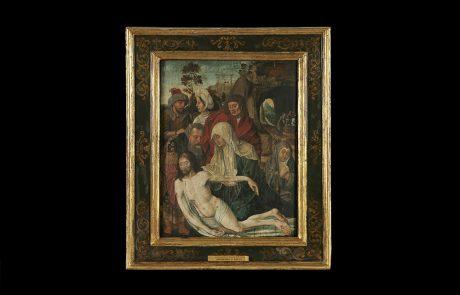 Skidanje sa krsta, Nepoznati flamanski umetnik, 15. vek