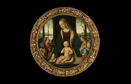Virgin with Christi and Two Angels, Biago D' Antonio, c. 1490