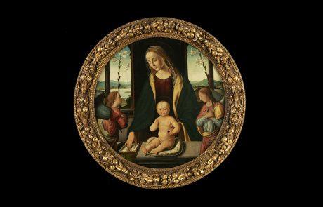 Bogorodica sa Hristom i dva anđela, Bjađo D' Antonio, oko 1490.