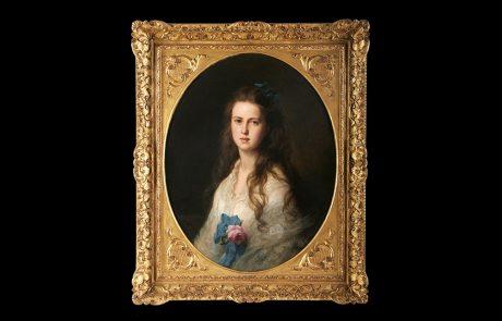 Portret Marije Aleksandrovne, Franc Ksaver Vinterhalter, 1872.