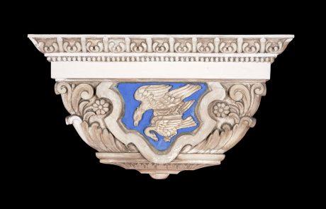 Detail of the pillar,by Nikolai Krasnov