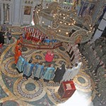 The consecration of the Army of Serbia brigade flags  in the Church of Saint George in Oplenac