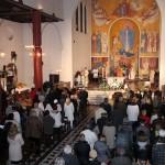 Ускршње бдење у Катедралној цркви Успења Благословене девице Марије у Београду