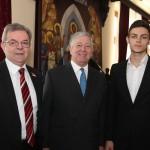 Mr. Dragomir Karic and HRH Crown Prince Alexander
