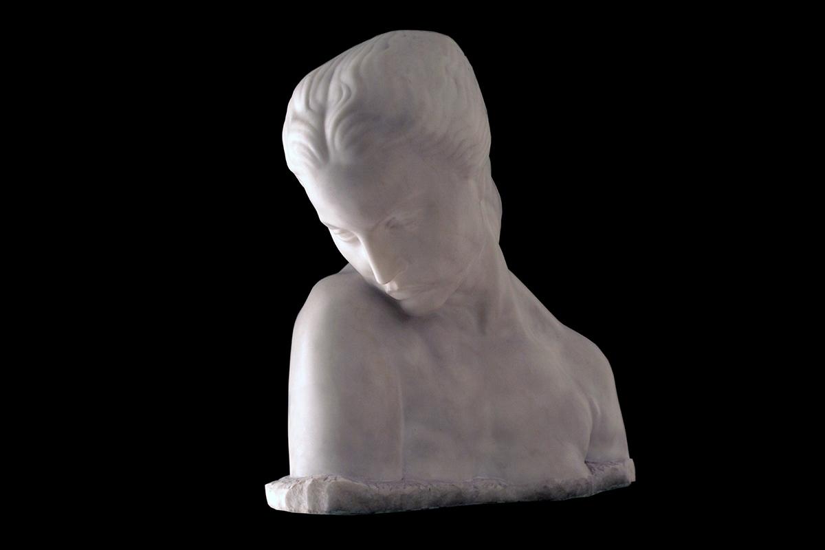 """Remembrance"", Ivan Meštrović, 1955."