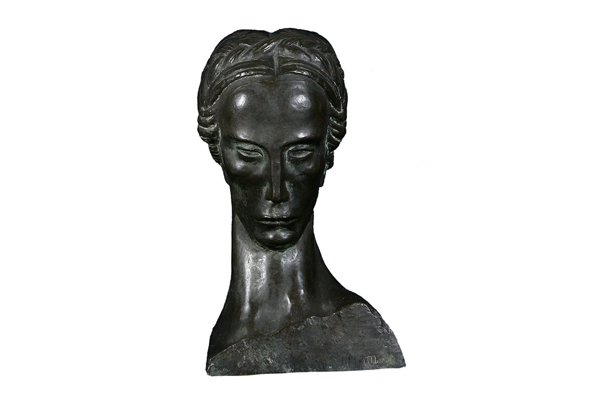 """The lady with the braid"", Ivan Mestrovic"