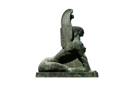 Sphinx, cast after Mestrovic's model 1957