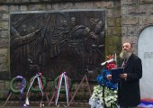 Mr Predrag Markovic, member of the Crown Council on behalf of Crown Prince Alexander laid a wreath at sarcophagus of Supreme Leader Karadjordje at the Ct. George Church in Oplenac