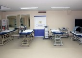 Special therapeutic beds donated by Crown Princess Katherine to the Institute for Sport and Sports Medicine