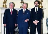 Престолонаследник Александар, Принц од Велса и Принц наследник Петар у Белом Двору