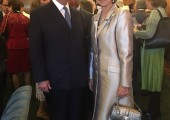 Crown Prince Alexander and Her Majesty Queen Sofia of Spain