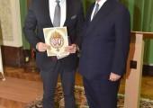 Mr. Vladan Vukosavljevic and HRH Crown Prince Alexander