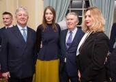 - HRH Crown Prince Alexander, Roksanda Ilincic, Sir Paul Judge and Jadranka Dervisevic-Kitarevic