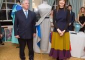 HRH Crown Prince Alexander and Roksanda Ilincic
