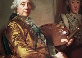 Alexander Roslin: SjŠlvportrŠtt, 1790.Malmš Museum