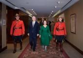 Њихова Краљевска Височанства Престолонасленик Александар и Принцеза Катарина на добротворном догађају организације Лајфлајн Канада