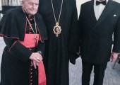 His Eminence Theodore E. Cardinal McCarrick, His Grace the Right Reverend Irinej and HRH Crown Prince Alexander