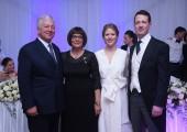HRH Crown Prince Alexander, HE Mrs. Maja Gojkovic and TRH Princess Danica and Prince Philip