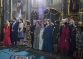 Wedding of TRH Prince Philip and Princess Danica at Saborna church in Belgrade