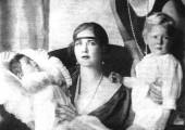 Kraljica Marija, Kralj Petar II, Princeza Ileana i Kralj Mihailo