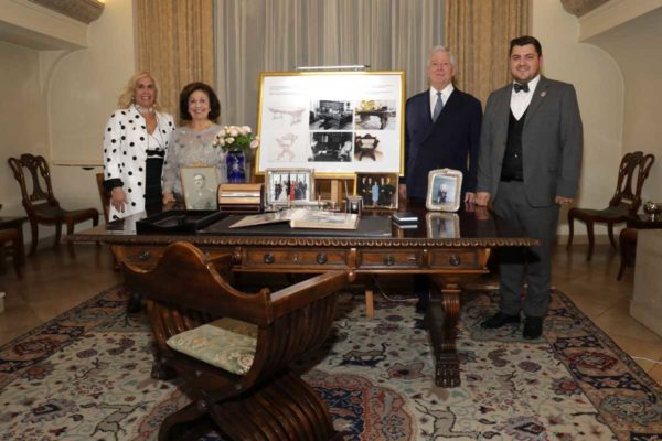 Alison, TRH Crown Princess Katherine and Crown Prince Alexander and Mr. Andrija Sosic
