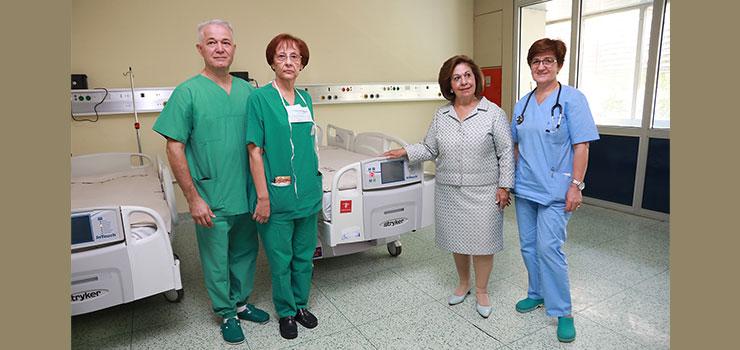 HRH CROWN PRINCESS KATHERINE DELIVERS VALUABLE MEDICAL EQUIPMENT TO CLINICAL CENTER KRAGUJEVAC AND KRALJEVO GENERAL HOSPITAL