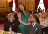 ROYAL COUPLE HOSTED ANNUAL BENEFIT LUNCHEON IN NEW YORK IN AID OF CHILDREN'S HOSPITALS IN SERBIA