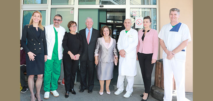 THEIR ROYAL HIGHNESSES IN THE HUMANITARION MISSION IN TOPONICA, ALEKSINAC AND KRUSEVAC