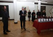 ULUS AWARDED THEIR ROYAL HIGHNESSES PLAQUE FOR CONTRIBUTION AND SUPPORT TO ART AND CULTURE IN SERBIA